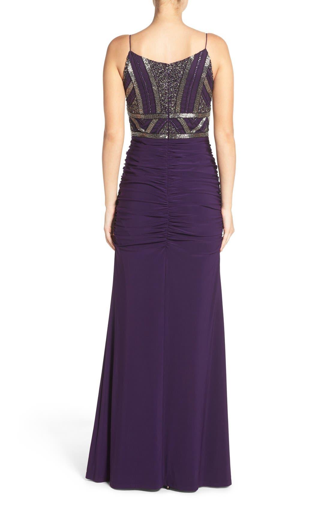 Alternate Image 2  - Adrianna Papell Sleeveless Beaded Bodice Dress