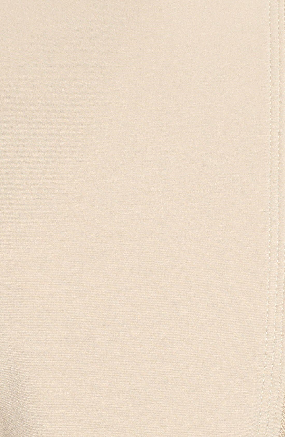 Alternate Image 5  - Via Spiga Detachable Faux Fur Collar Belted Soft Shell Coat