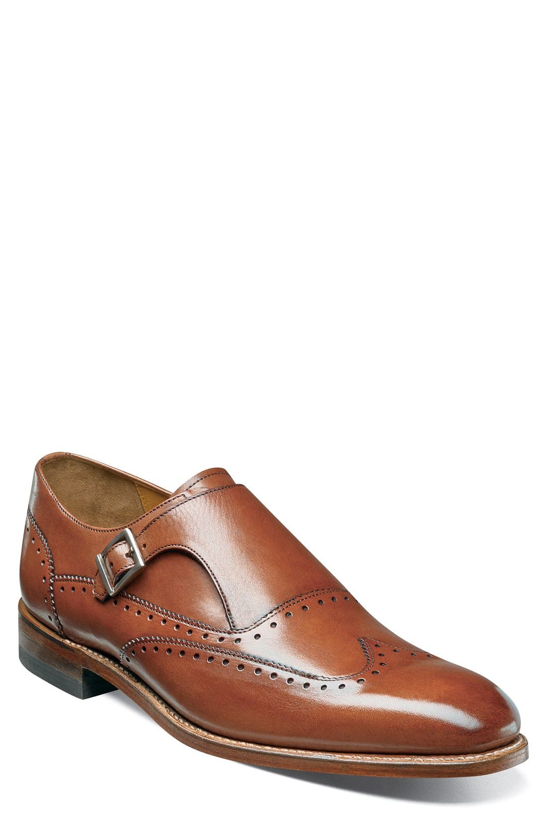 Stacy Adams Madison II Monk Strap Shoe (Men)