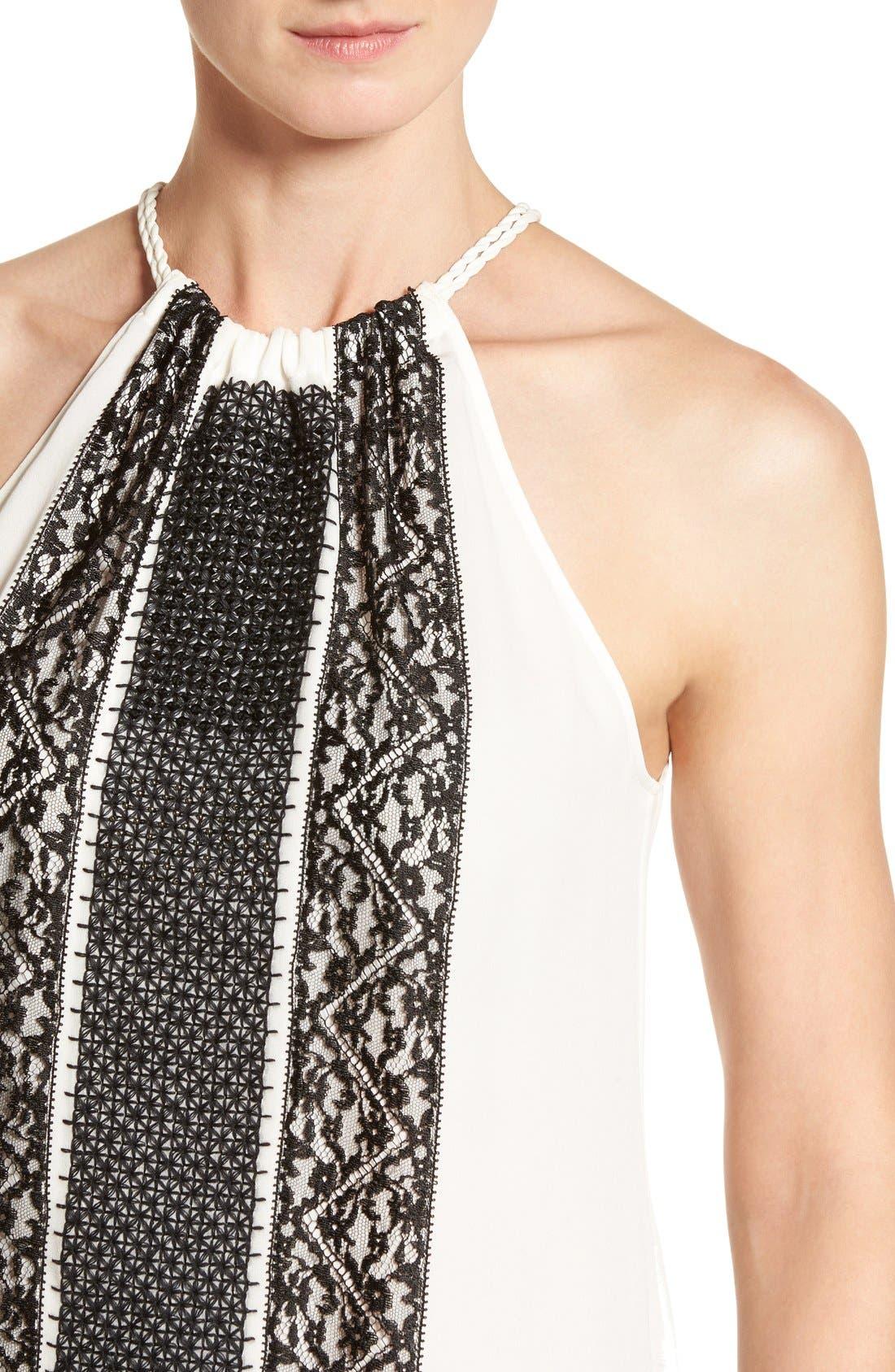 Alternate Image 4  - Kobi Halperin 'Jolie' Embellished Silk Halter Blouse