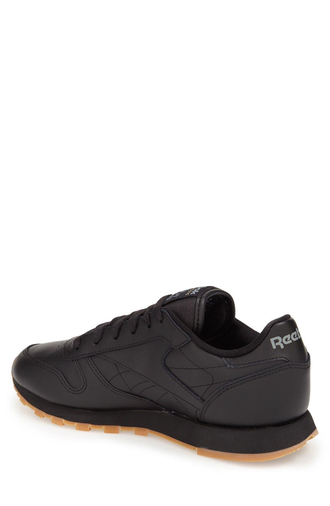 Alternate Image 2  - Reebok 'Classic' Sneaker (Women)