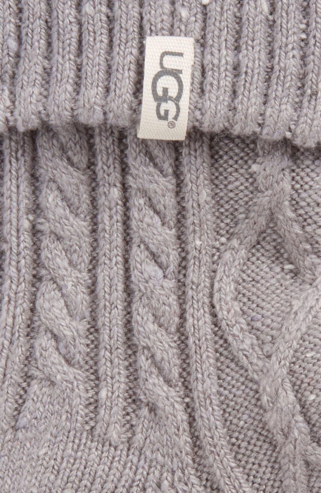 Alternate Image 2  - UGG® 'Sienna' Short Boot Sock