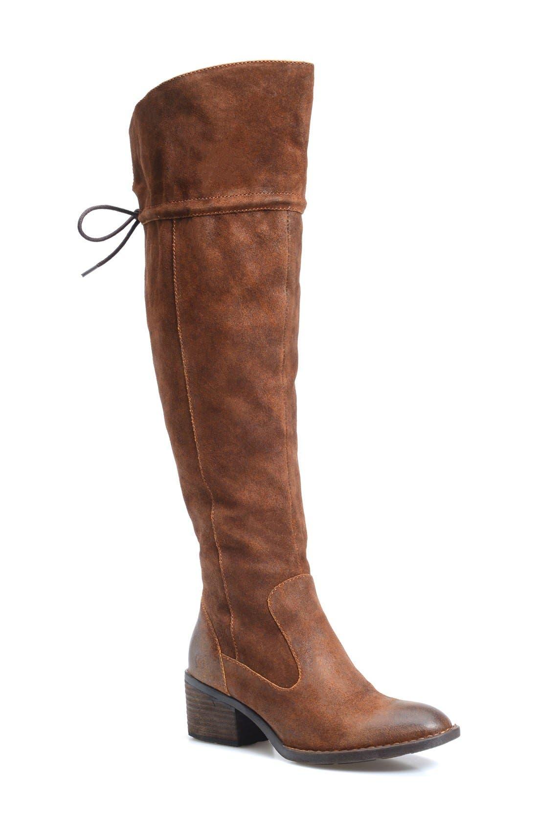 Main Image - Børn 'Gallinara' Over the Knee Boot (Women)