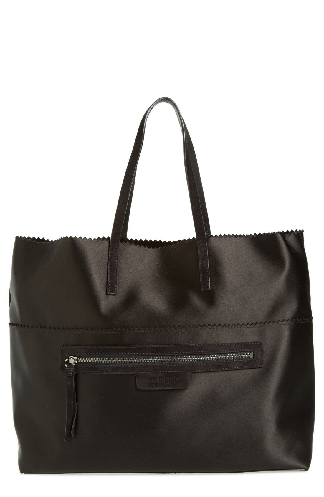 PEDRO GARCIA Satin Shopper