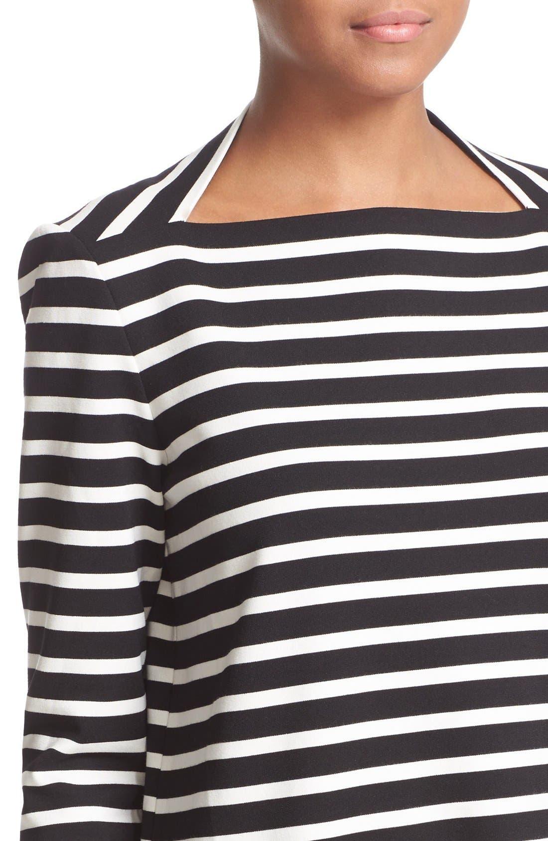 Alternate Image 4  - kate spade new york 'everyday' stripe patch pocket shift dress