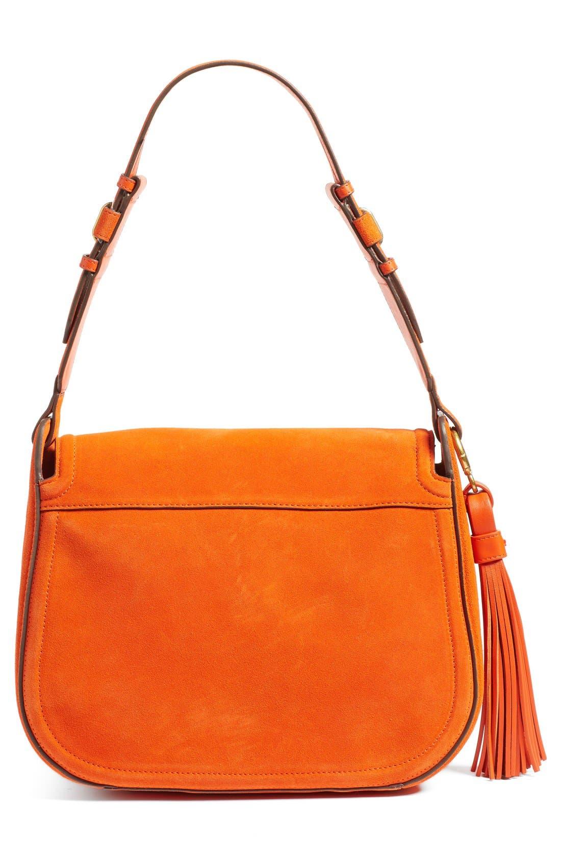 Alternate Image 3  - Tory Burch Leather Shoulder Bag