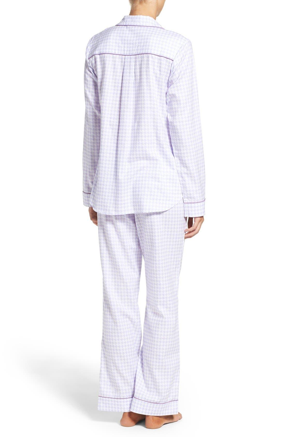 Alternate Image 2  - UGG® 'Raven' Houndstooth Pajamas