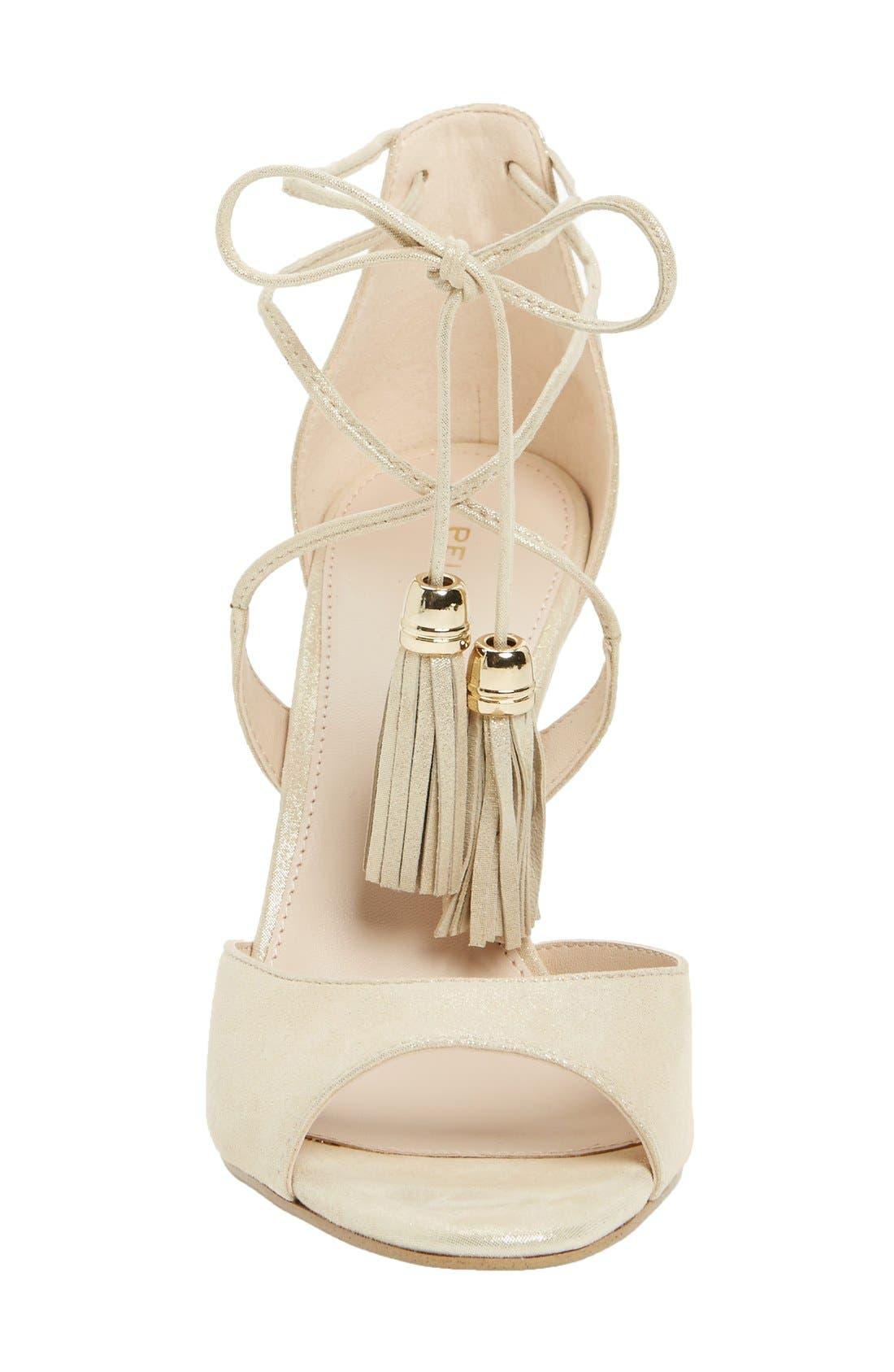 Alternate Image 3  - Pelle Moda 'Ruel' Tasseled Sandal (Women)