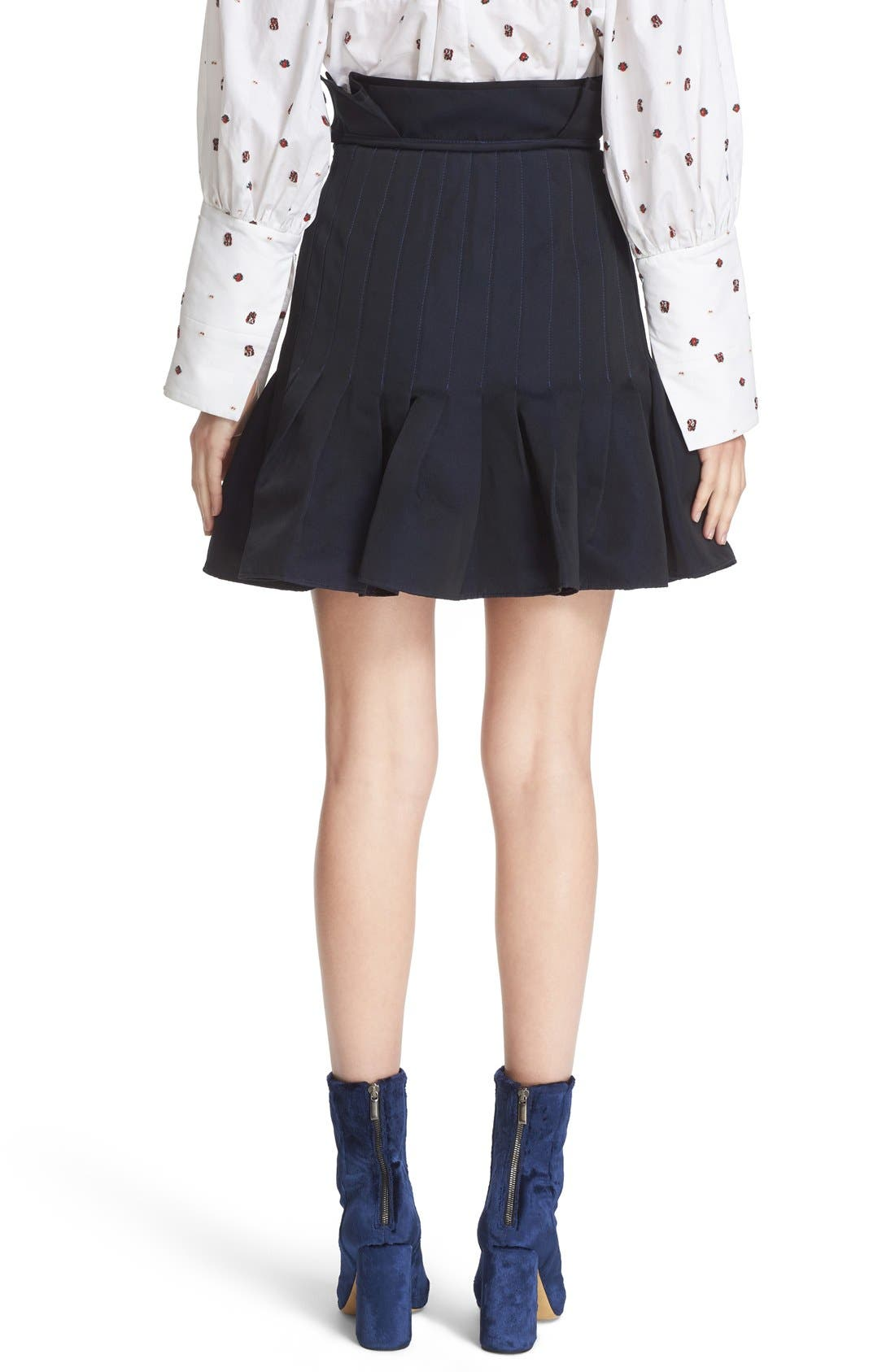 Alternate Image 2  - ELLERY 'Kyoto' Pleated Miniskirt