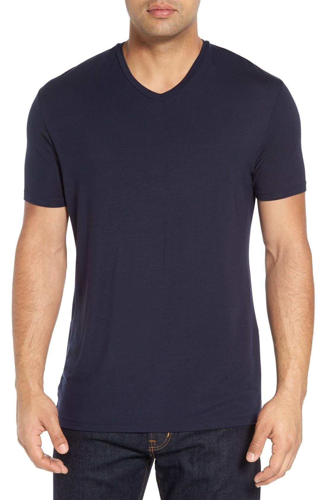 STONE ROSE V-Neck T-Shirt