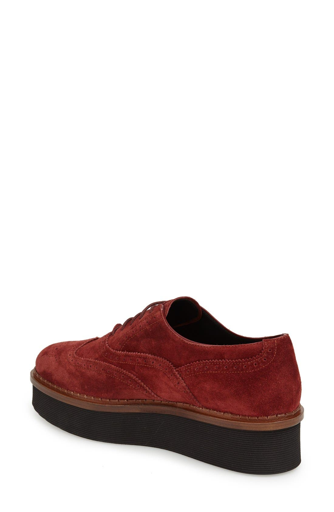 Alternate Image 2  - Tod's 'Lightsole' Creeper Wingtip Oxford (Women) (Nordstrom Exclusive)