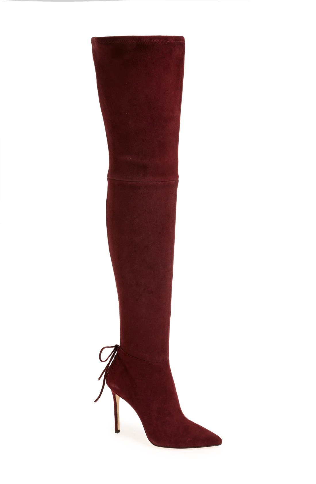 Alternate Image 1 Selected - Pour la Victoire 'Caterina' Over the Knee Boot (Women)