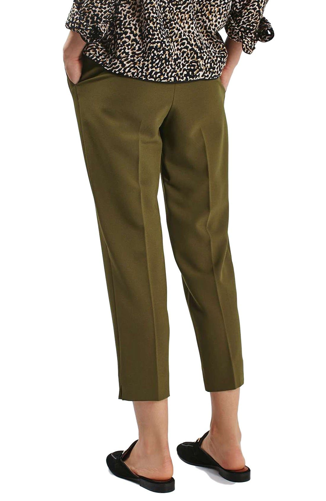 Alternate Image 3  - Topshop Slider Utility Peg Trousers (Regular & Petite)