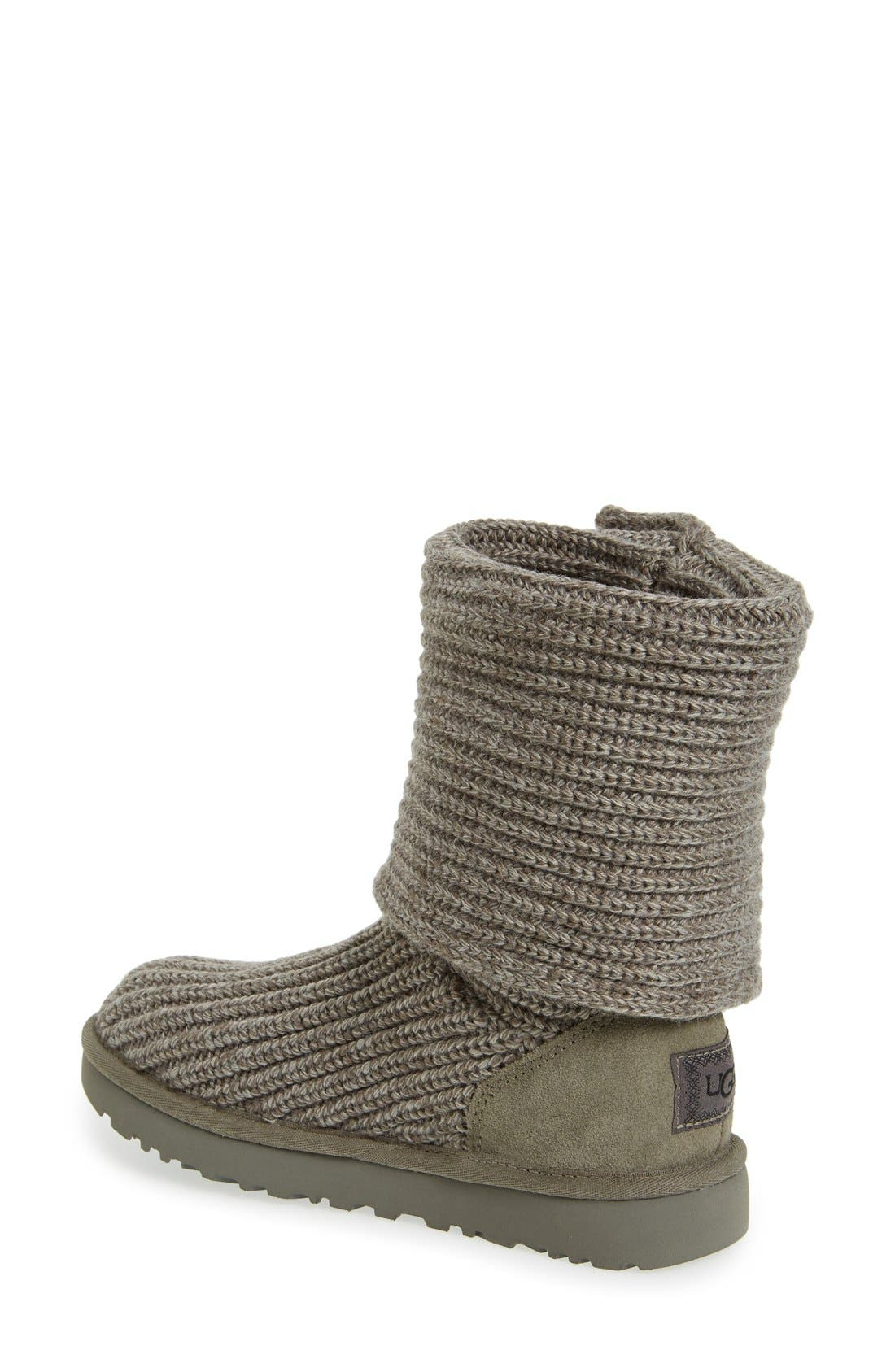 Alternate Image 2  - UGG® Classic Cardy II Knit Boot (Women)