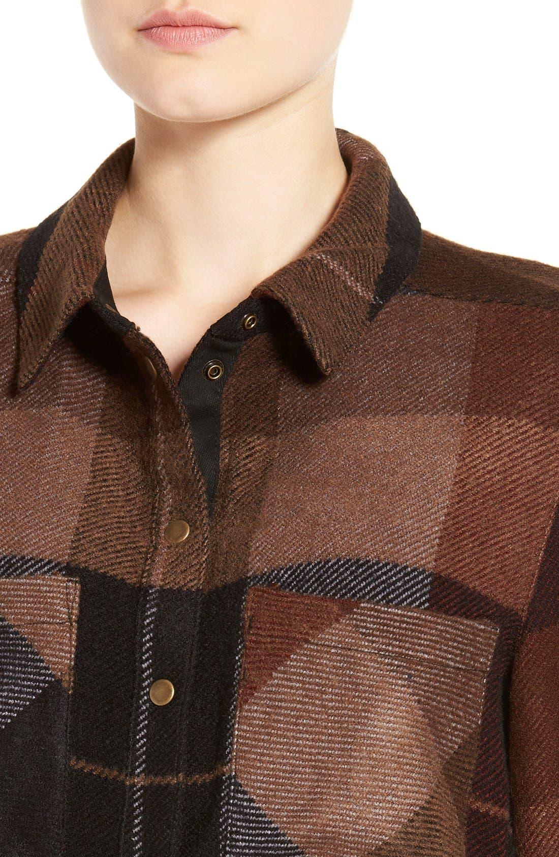 Alternate Image 4  - Dex Plaid Flannel Tunic