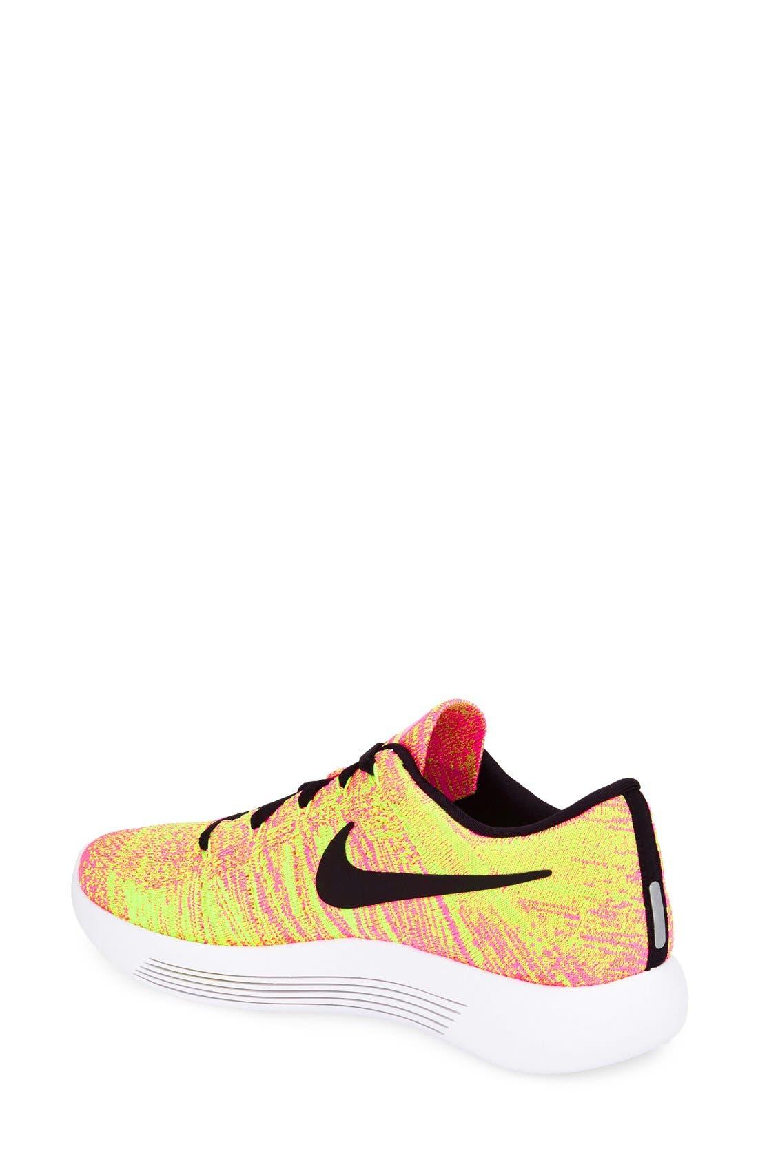 Alternate Image 2  - Nike 'Flyknit LunarEpic' Running Shoe (Women)