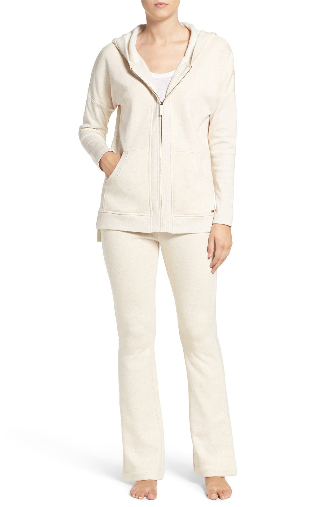 Alternate Image 6  - UGG® 'Mavis' Stretch Cotton Zip-Up Hoodie