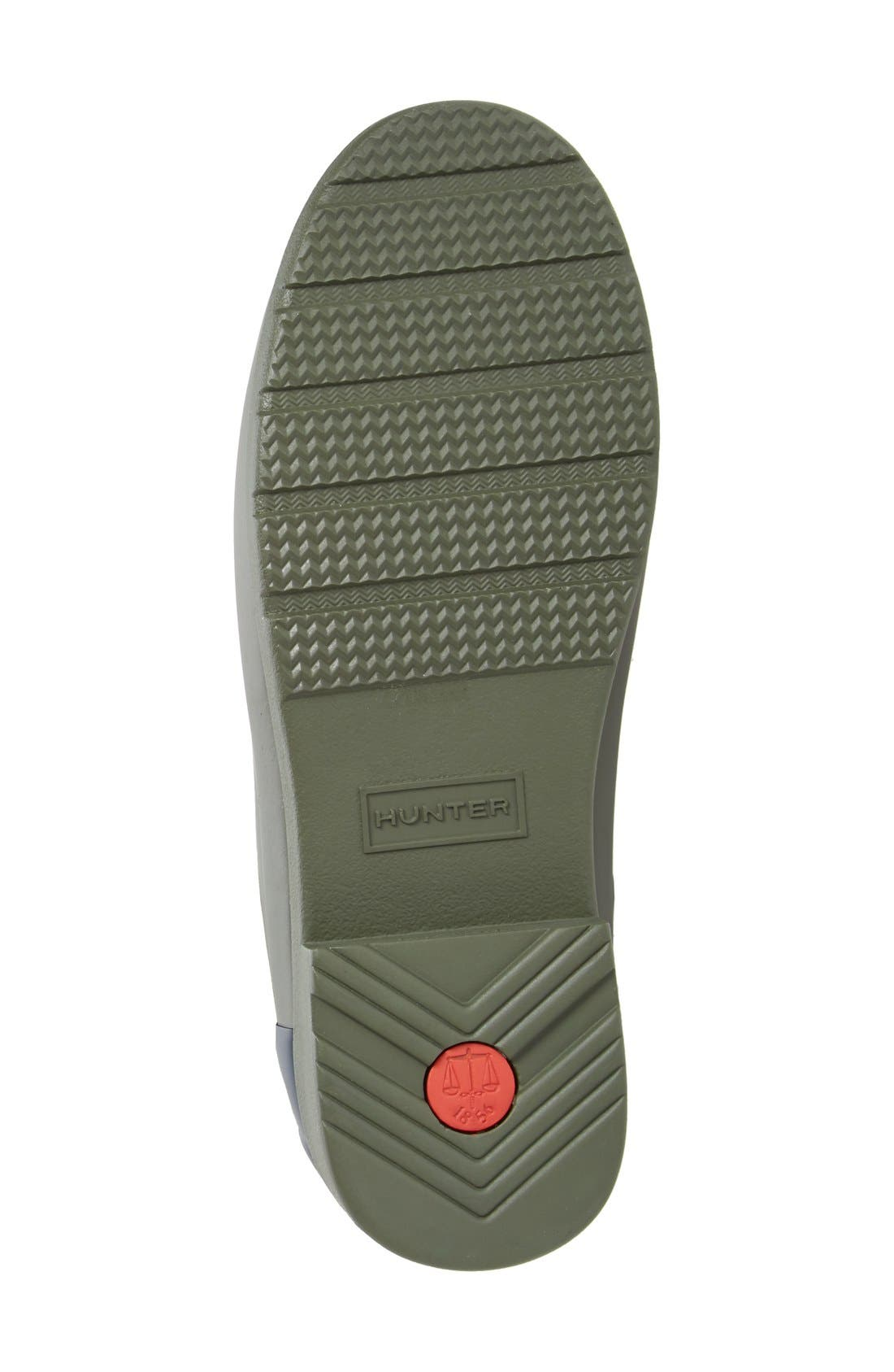 Alternate Image 4  - Hunter 'Refined - Chelsea' Two-Tone Boot (Women)