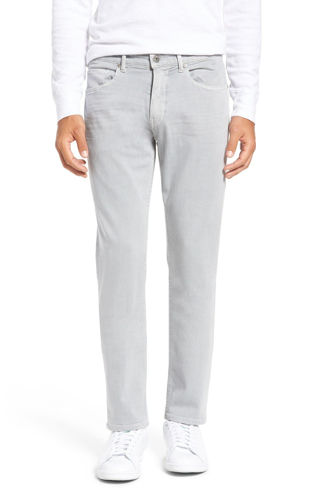 PAIGE Federal Slim Straight Leg Jeans (Dusty Gray)