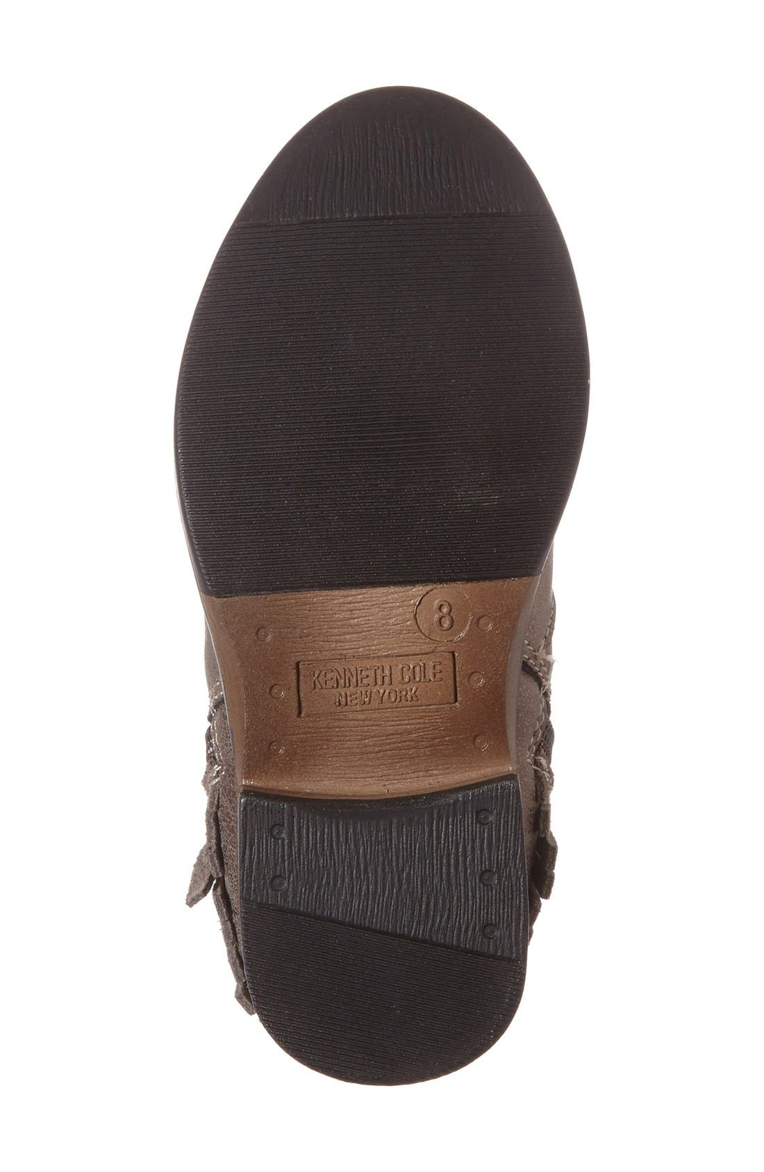 Alternate Image 4  - Kenneth Cole New York 'Downtown' Tiered Fringe Bootie (Toddler, Little Kid & Big Kid)