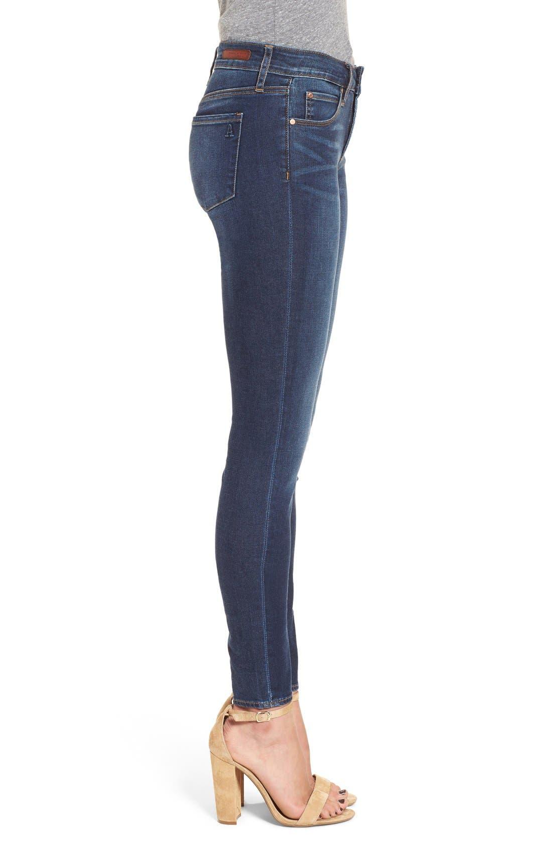 Alternate Image 3  - Articles of Society 'Mya' Skinny Jeans (Glendale)