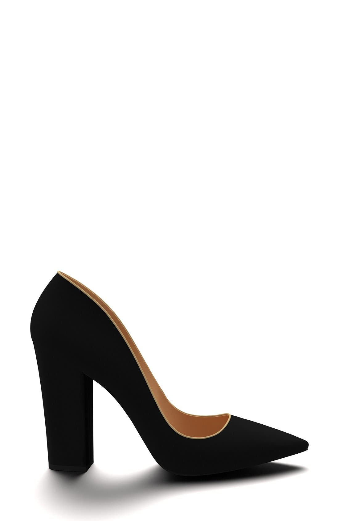 Alternate Image 4  - Shoes of Prey Block Heel Pump (Women)