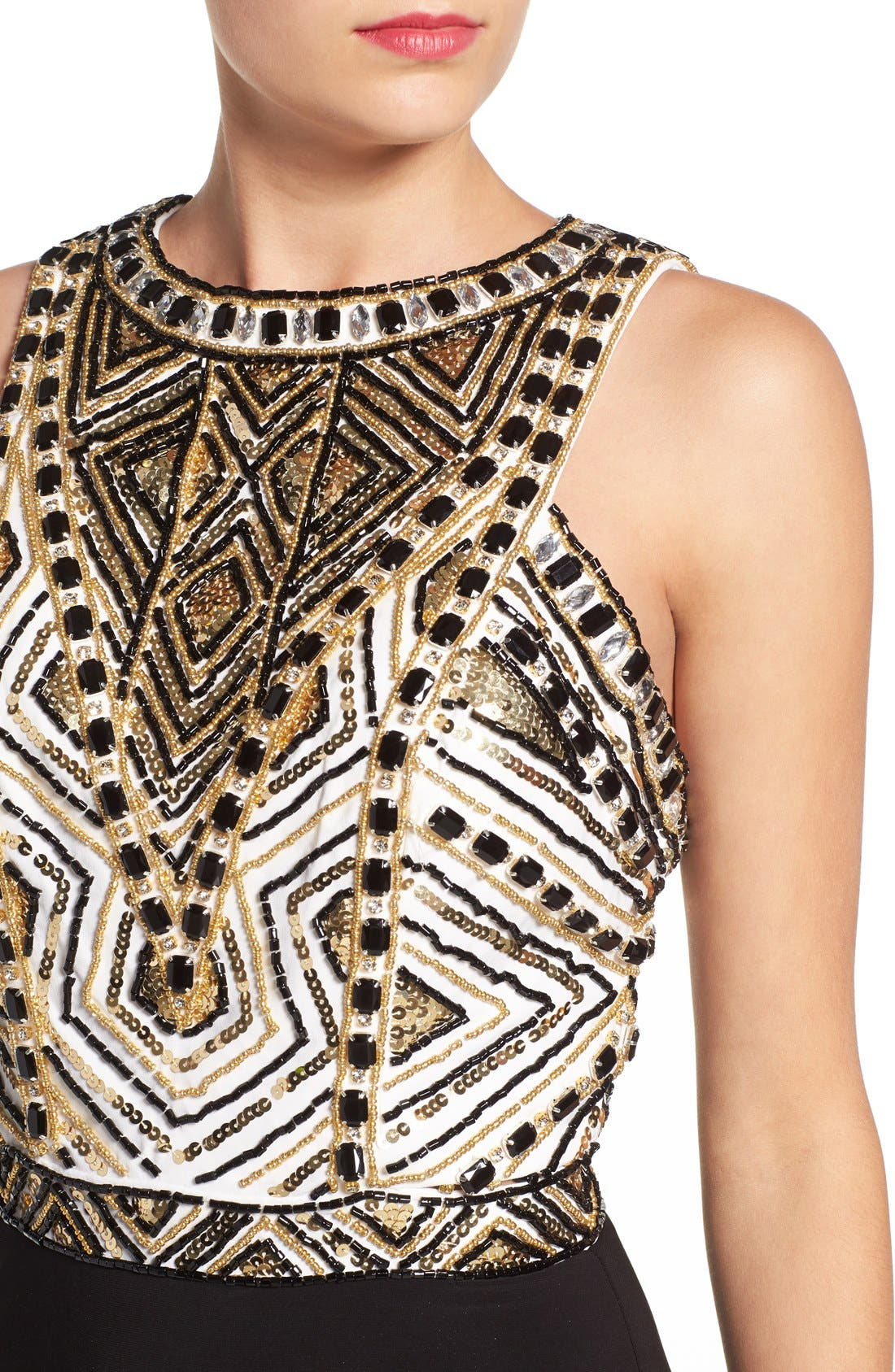 Alternate Image 4  - Mac Duggal Embellished Body-Con Dress