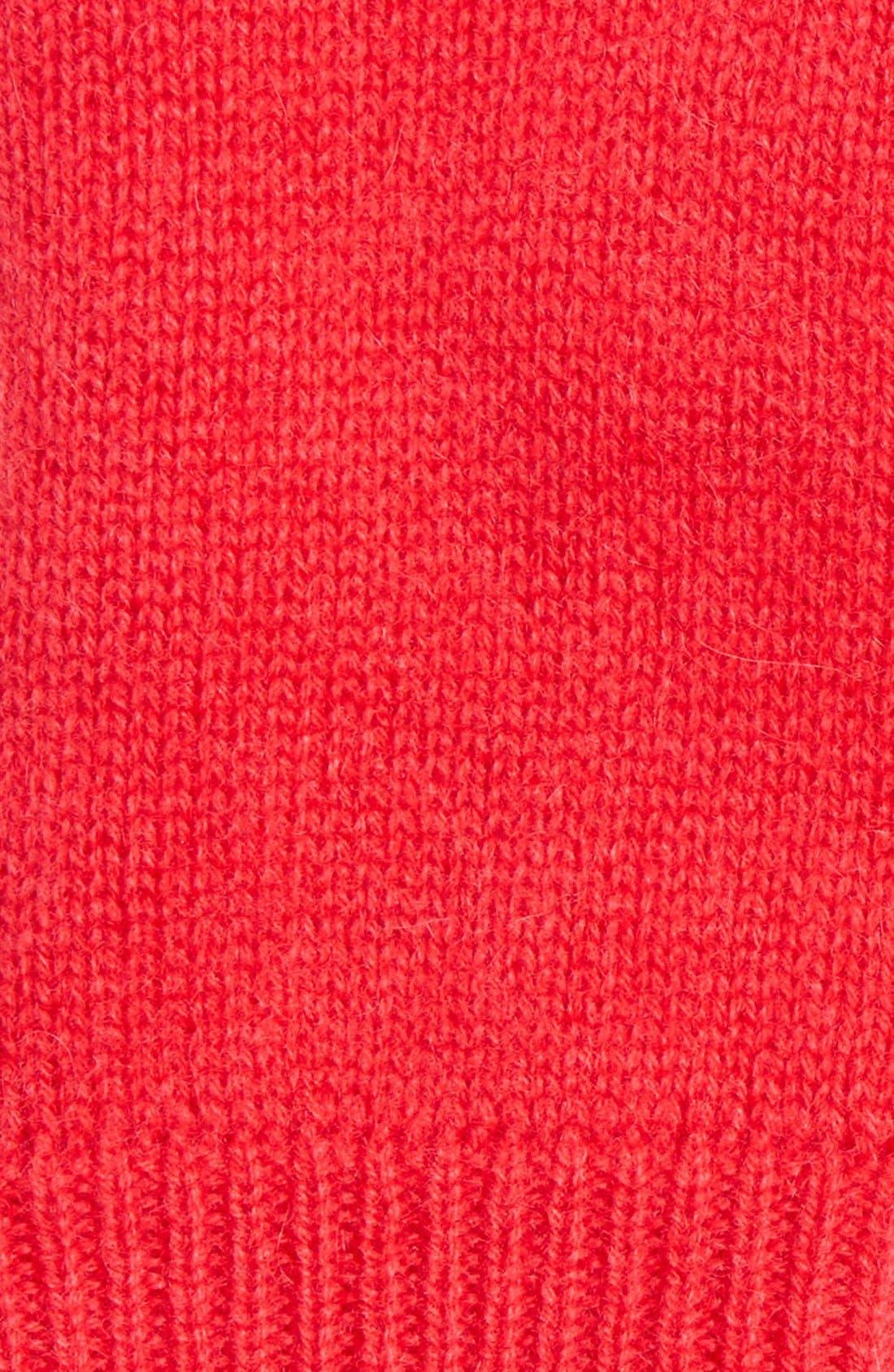 Alternate Image 2  - Halogen® Cashmere Fingerless Gloves