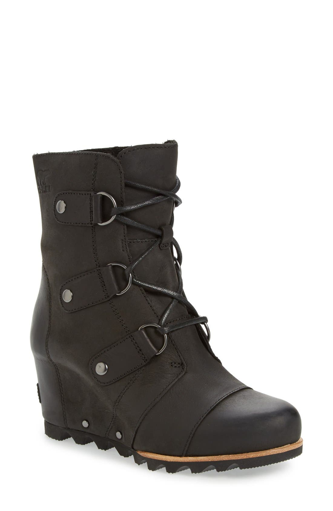 Alternate Image 1 Selected - SOREL 'Joan of Arctic' Waterproof Wedge Boot (Women)