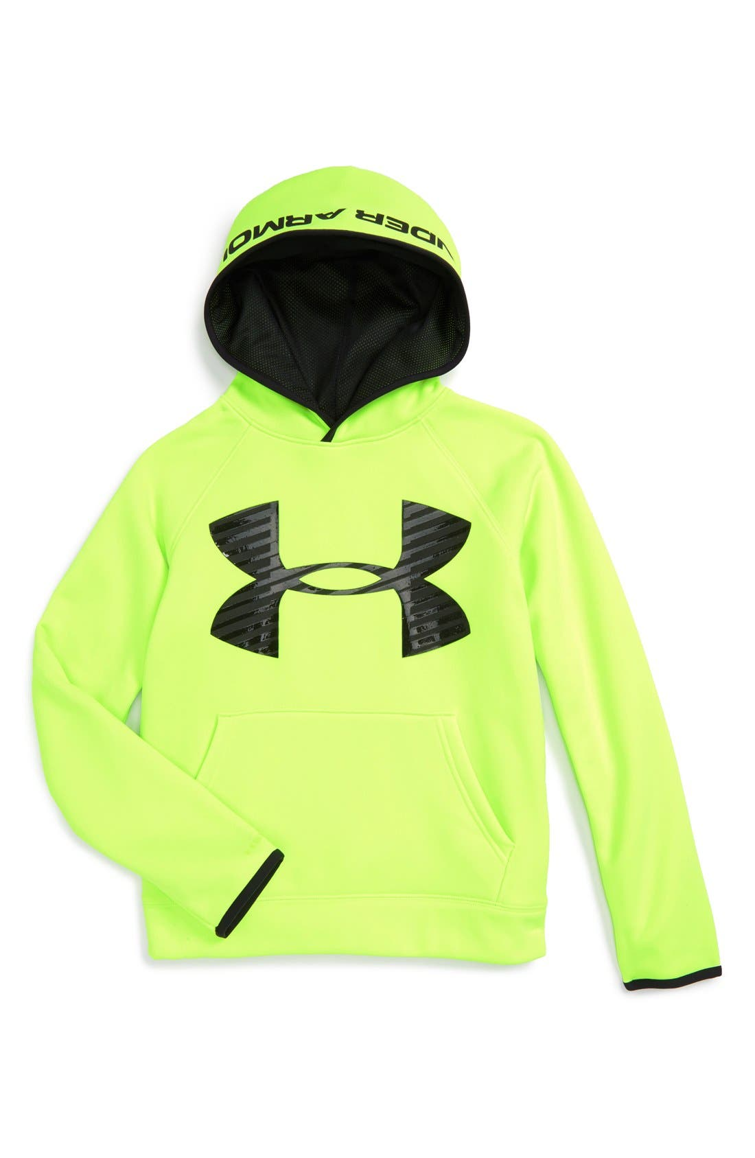 Alternate Image 1 Selected - Under Armour 'Storm Armour®' Water Repellent Hoodie (Little Boys & Big Boys)