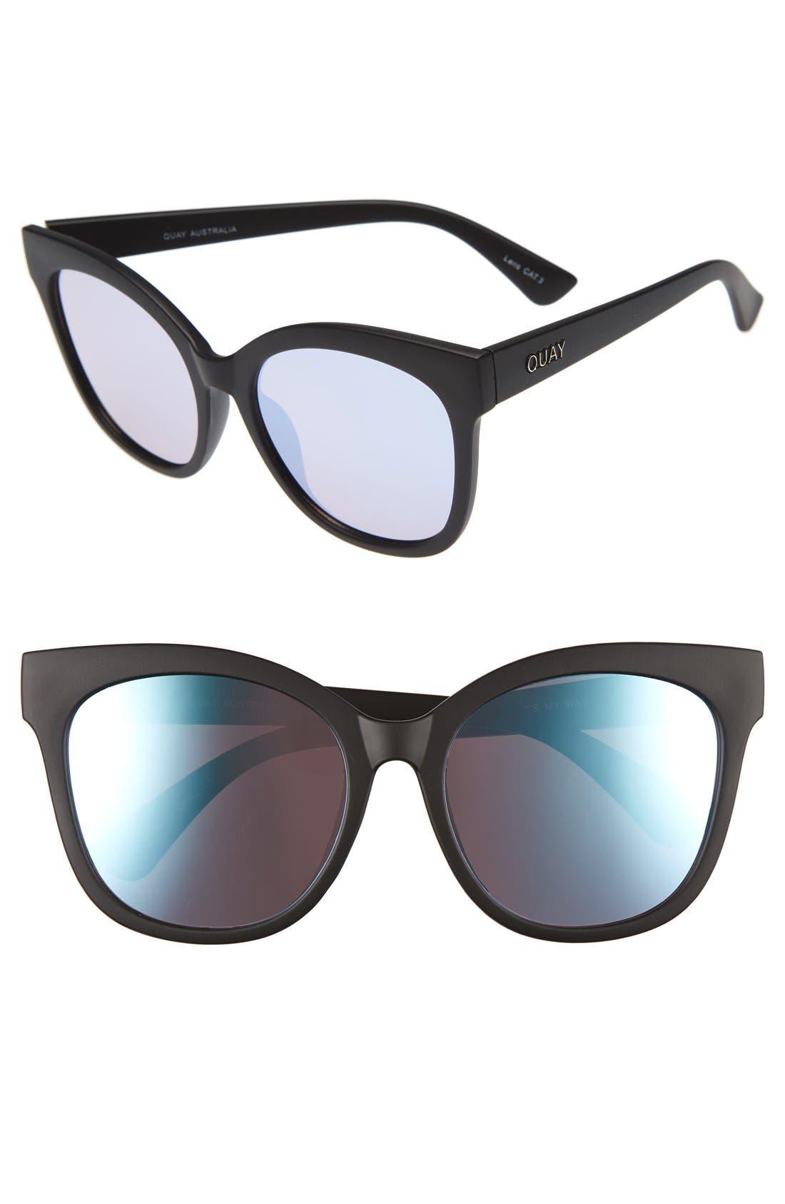 Alternate Image 1 Selected - Quay Australia It's My Way 55mm Sunglasses