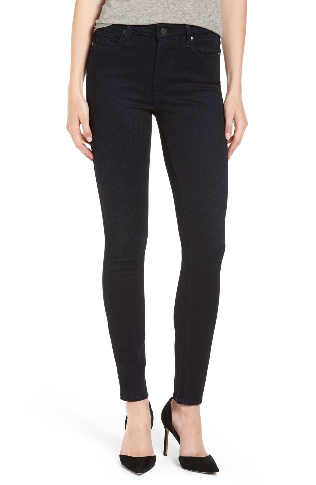 PAIGE Transcend - Hoxton High Waist Ultra Skinny Jeans (Emiko) (Nordstrom Exclusive)