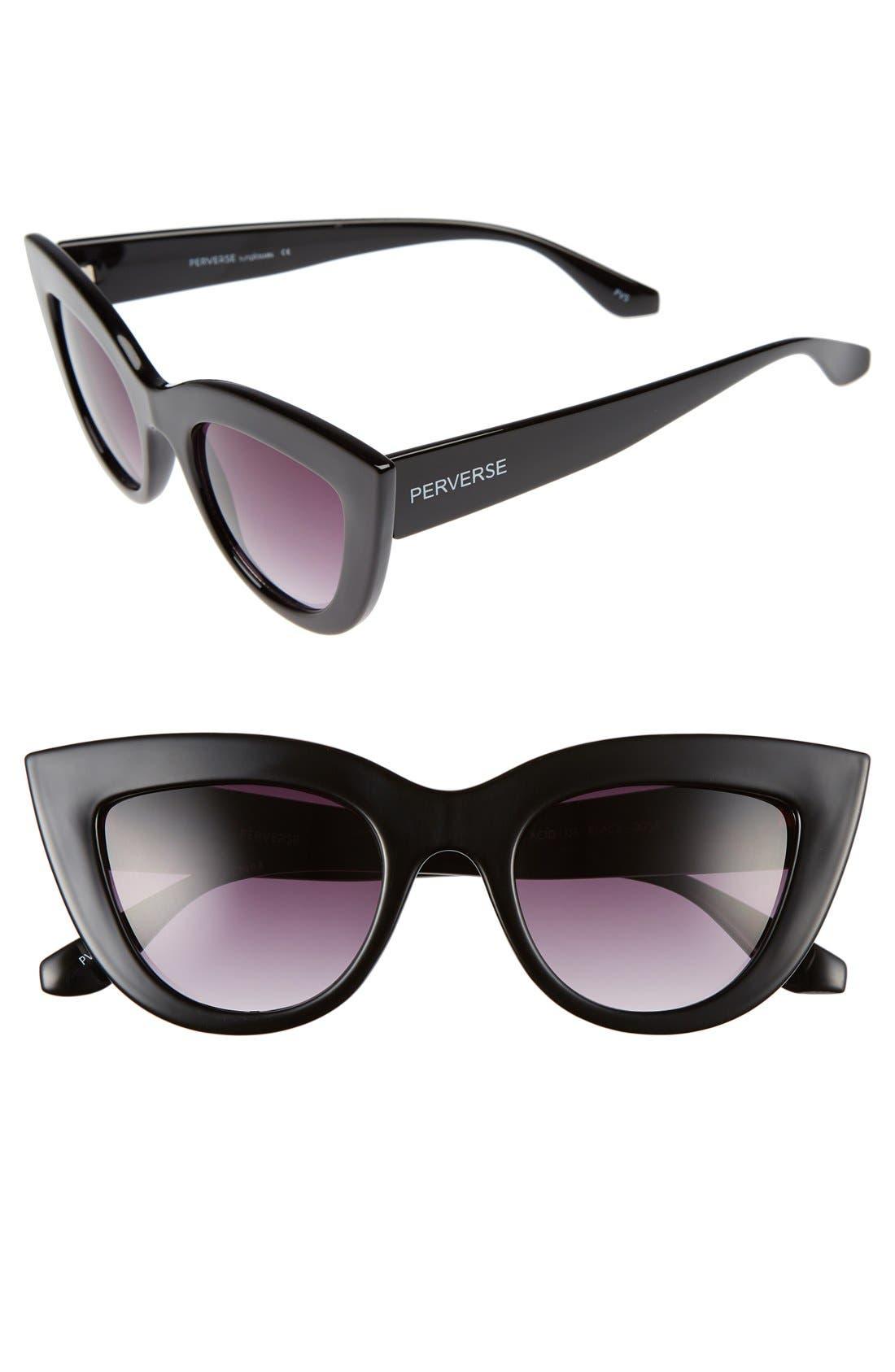 Main Image - PERVERSE 'Acid' 50mm Cat Eye Sunglasses
