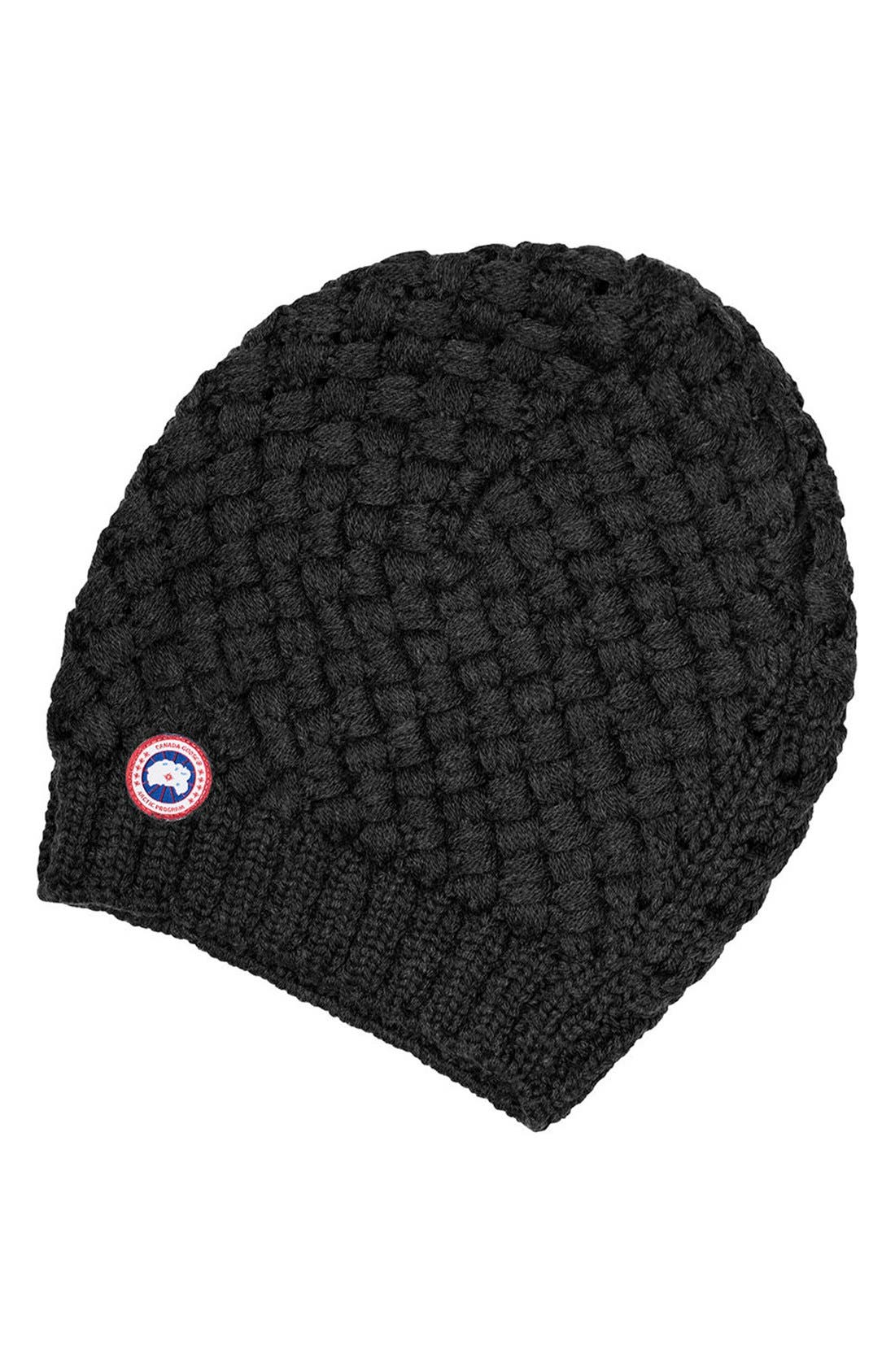 Canada Goose Slouchy Basketweave Beanie