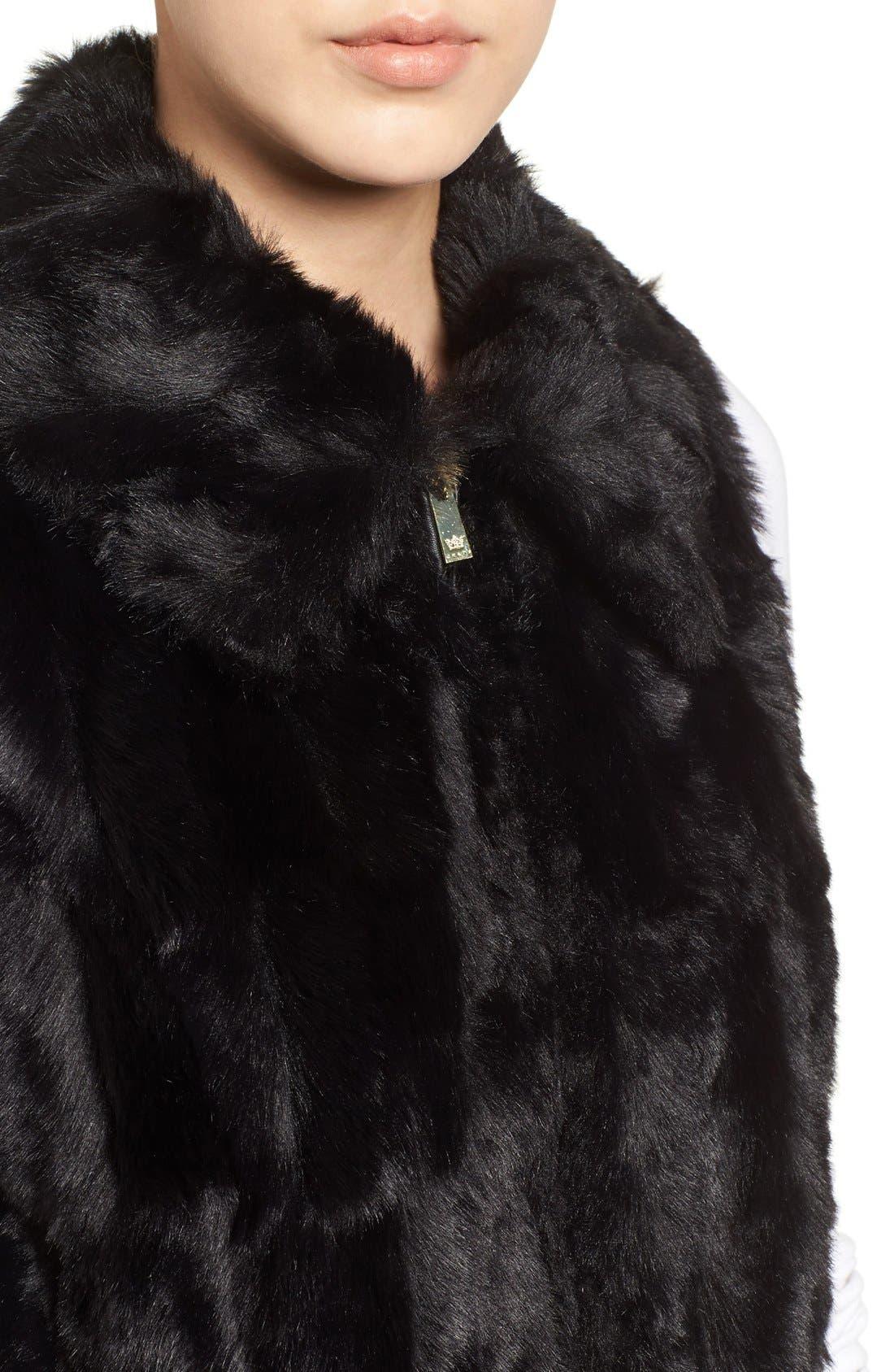 Alternate Image 4  - Chaus Faux Fur Vest
