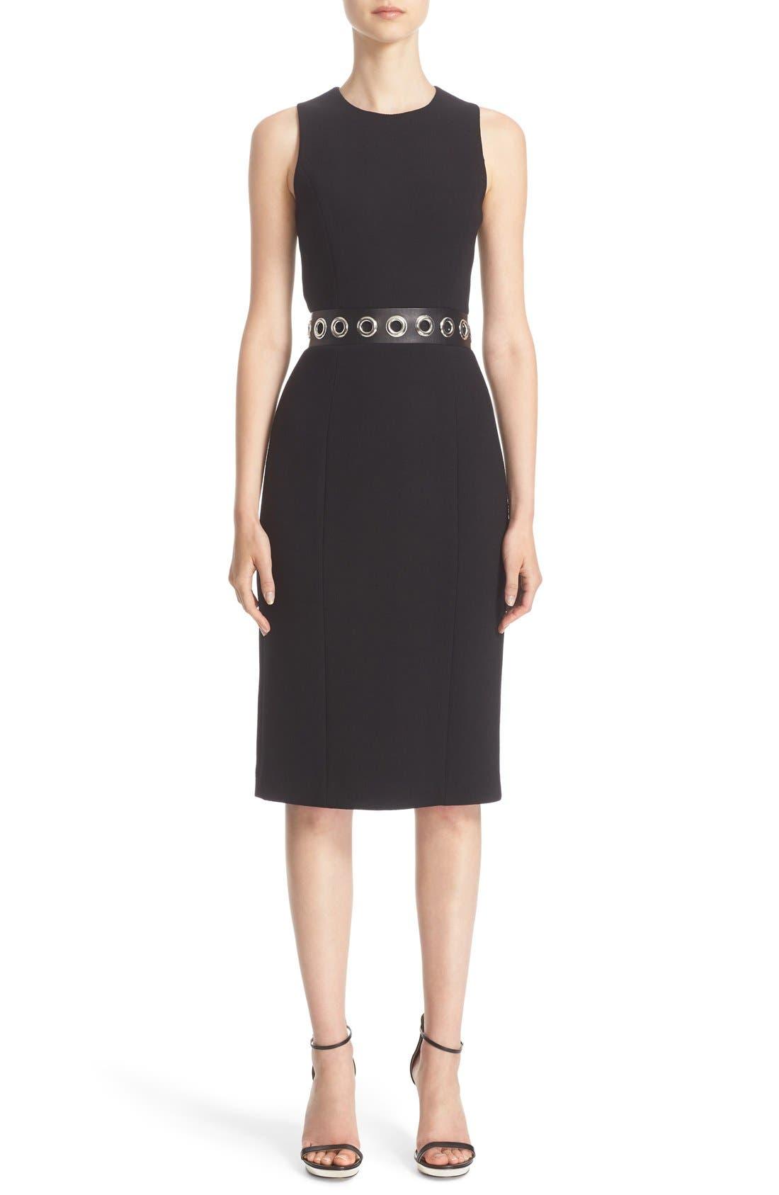 MICHAEL KORS Stretch Wool Dress
