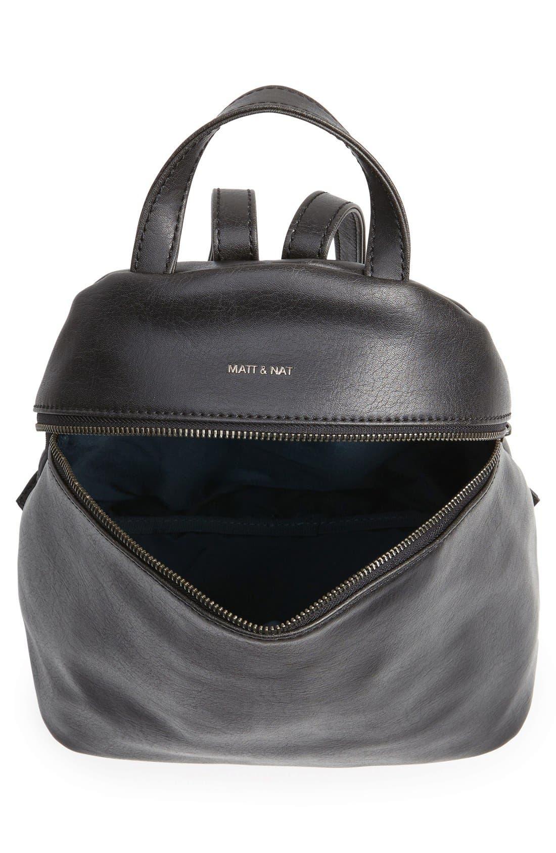 Alternate Image 4  - Matt & Nat 'Aries' Faux Leather Backpack