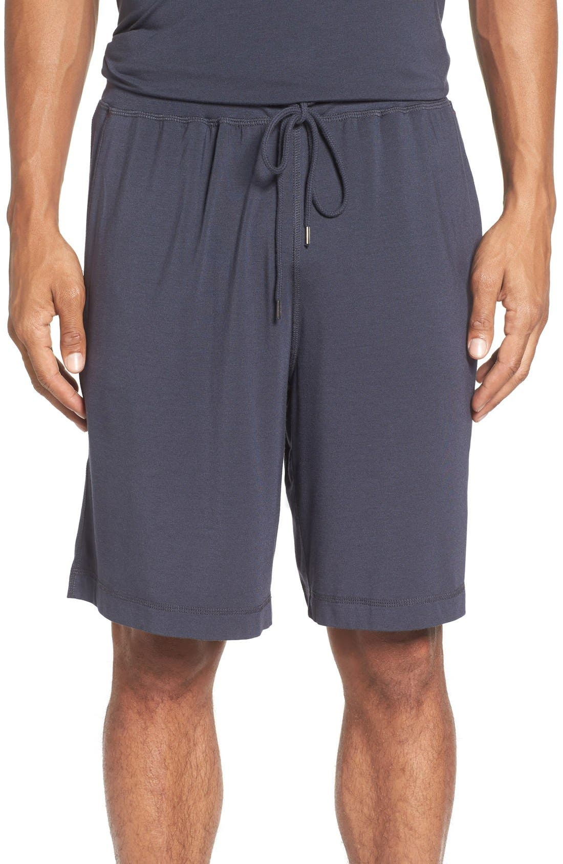 DANIEL BUCHLER Stretch Modal Blend Lounge Shorts
