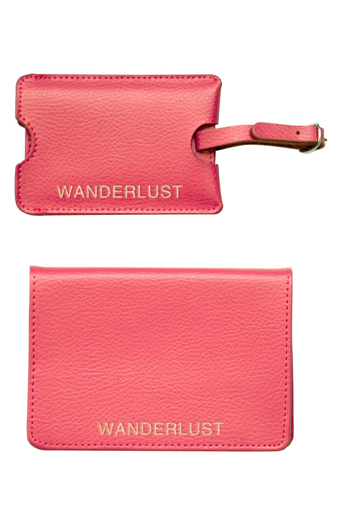 Cathy's Concepts 'Wanderlust' Passport Case & Luggage Tag
