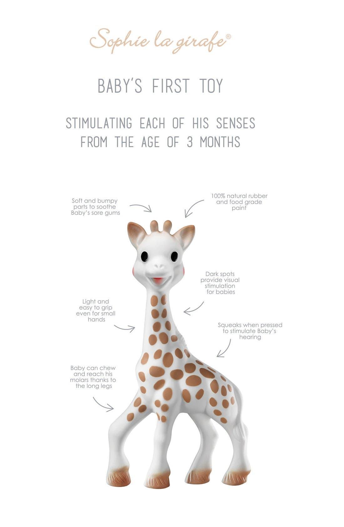 Alternate Image 2  - Sophie la Girafe Teething Toy