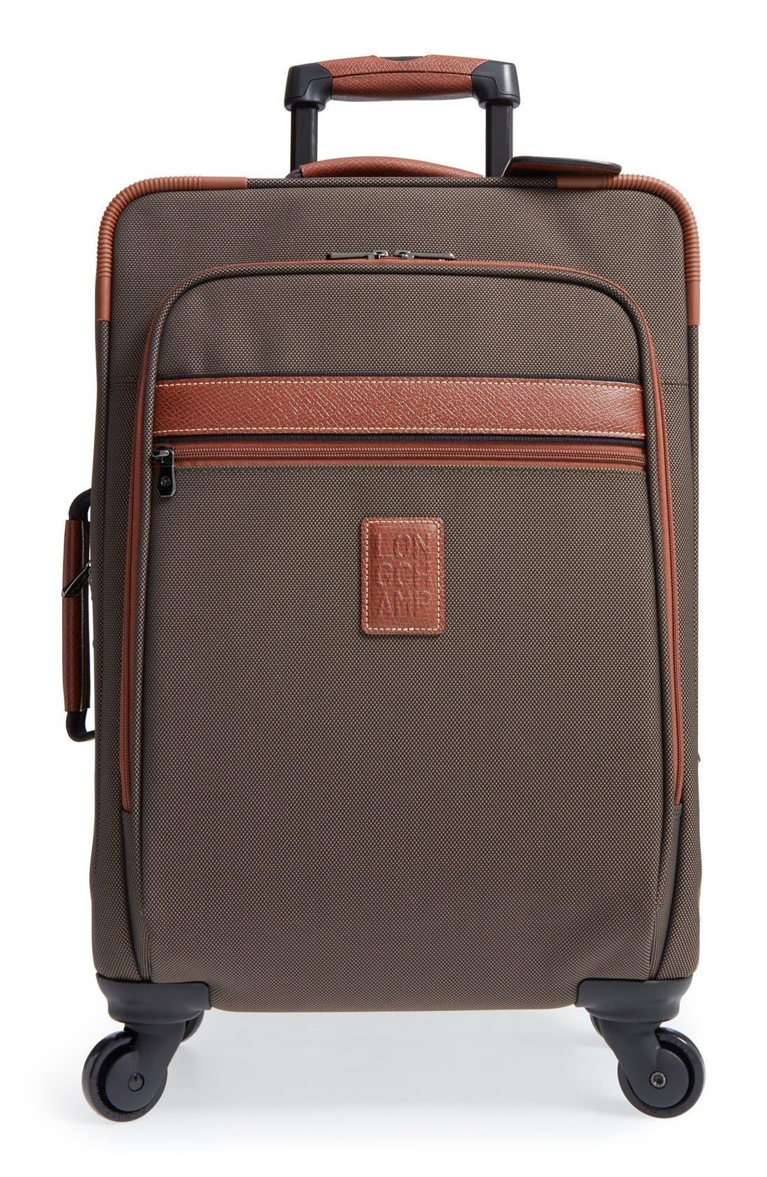 Longchamp 'Boxford' Boarding Suitcase (22 Inch)