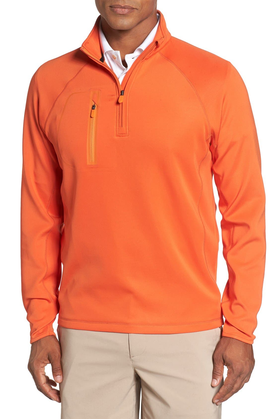 BOBBY JONES XH2O Crawford Stretch Quarter Zip Golf