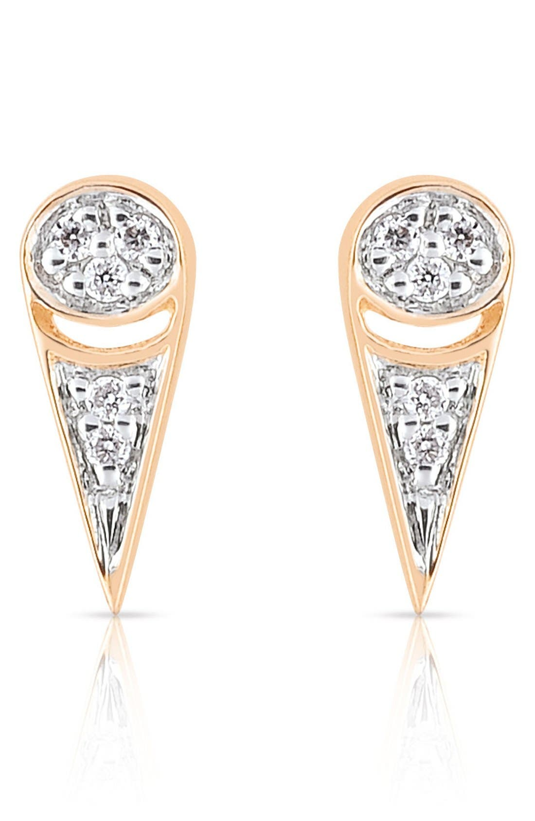 Main Image - ginette ny 'Mrs. Joe' Diamond Stud Earrings