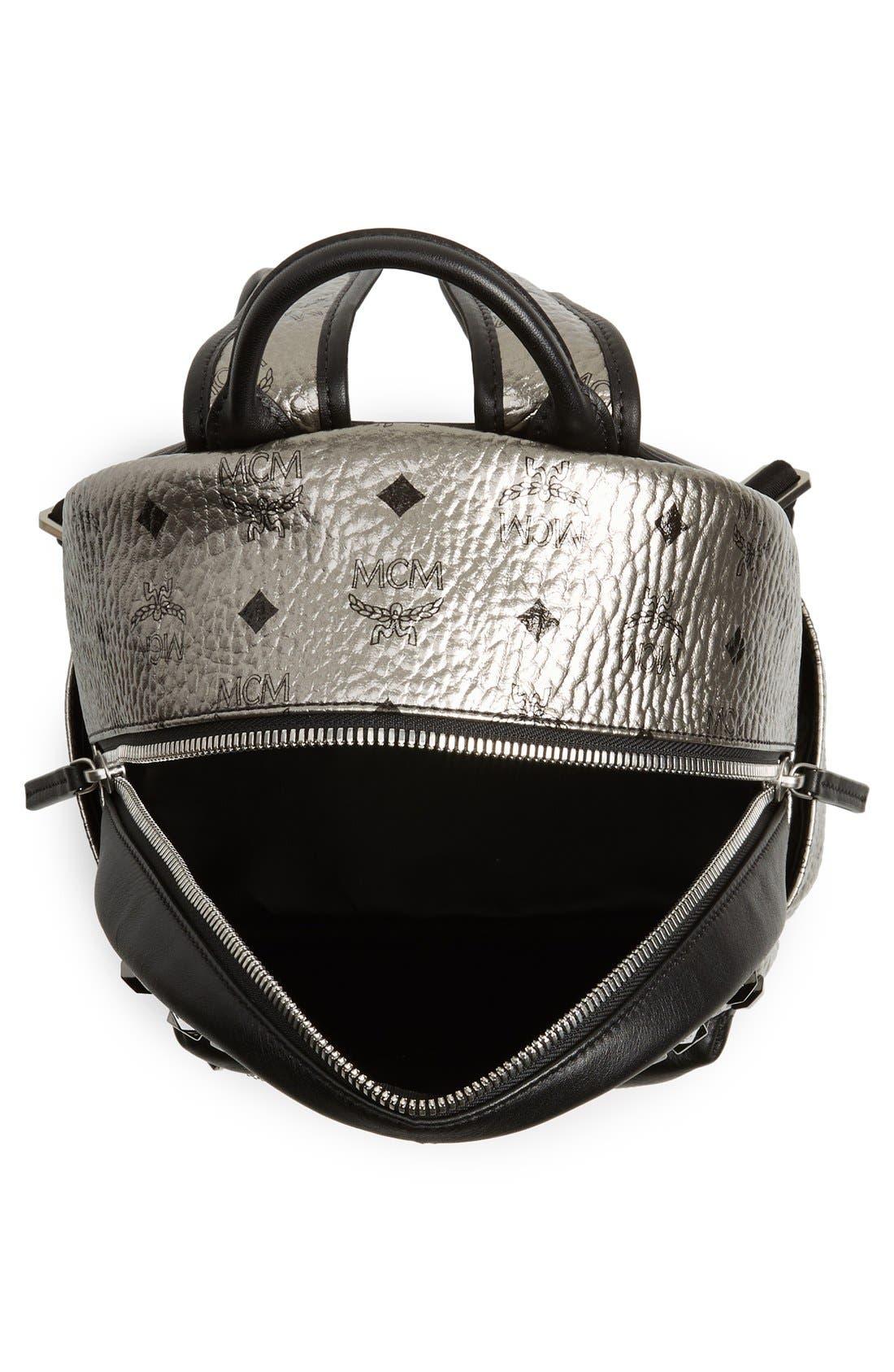 Alternate Image 4  - MCM 'Small Stark' Studded Backpack