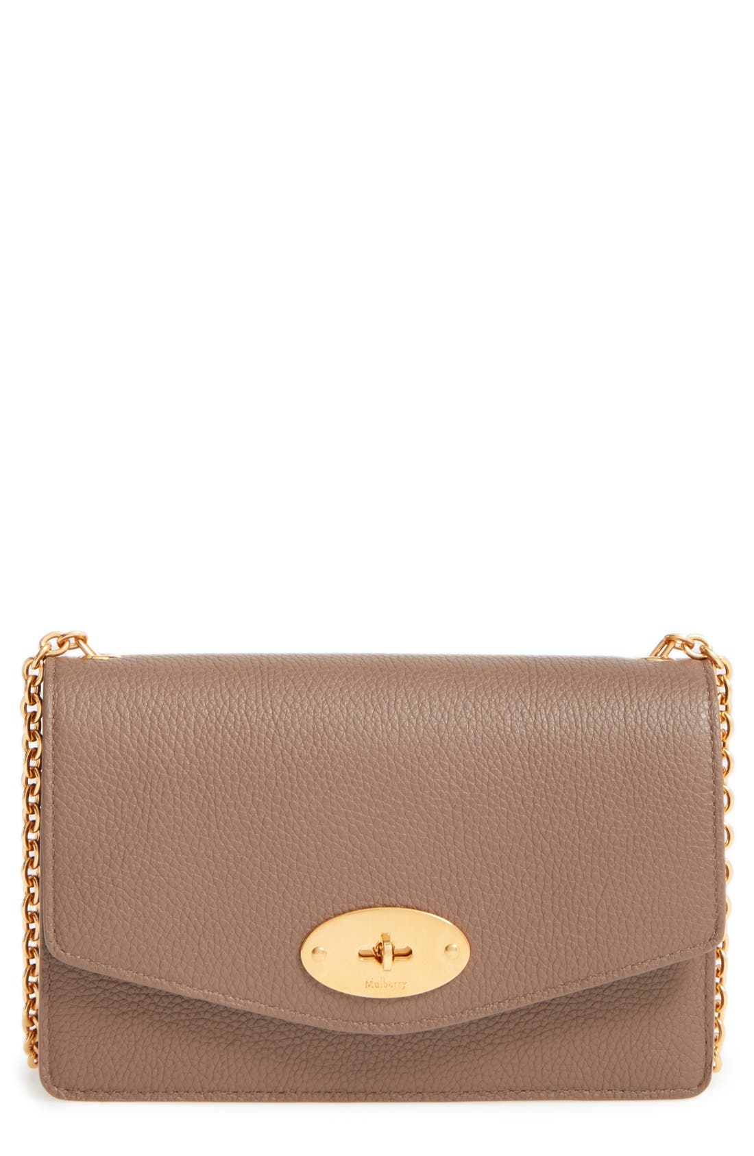 Alternate Image 1 Selected - Mulberry 'Postman's Lock' Leather Crossbody Clutch