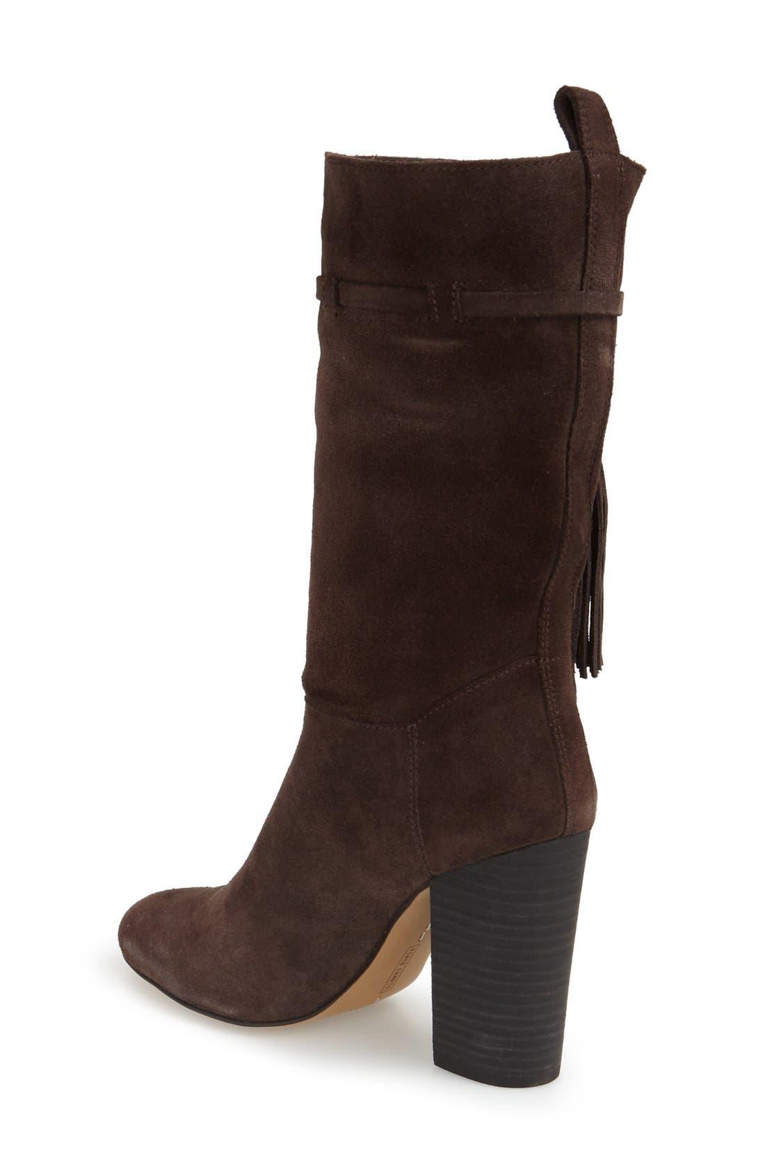 Alternate Image 2  - Vince Camuto 'Fermel' Slouch Tassel Boot (Women)