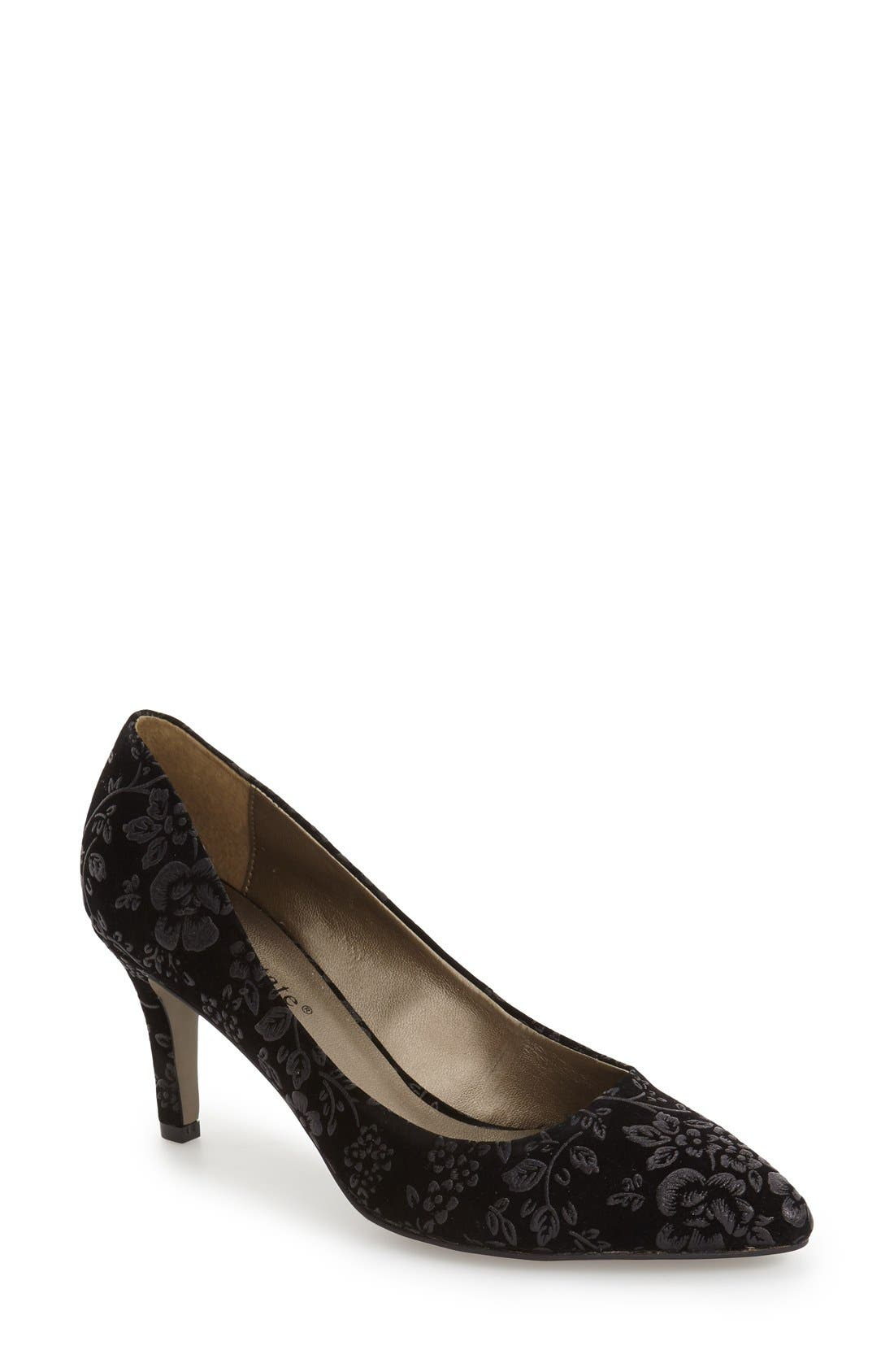 David Tate Opera 2 Pointy Toe Pump (Women)
