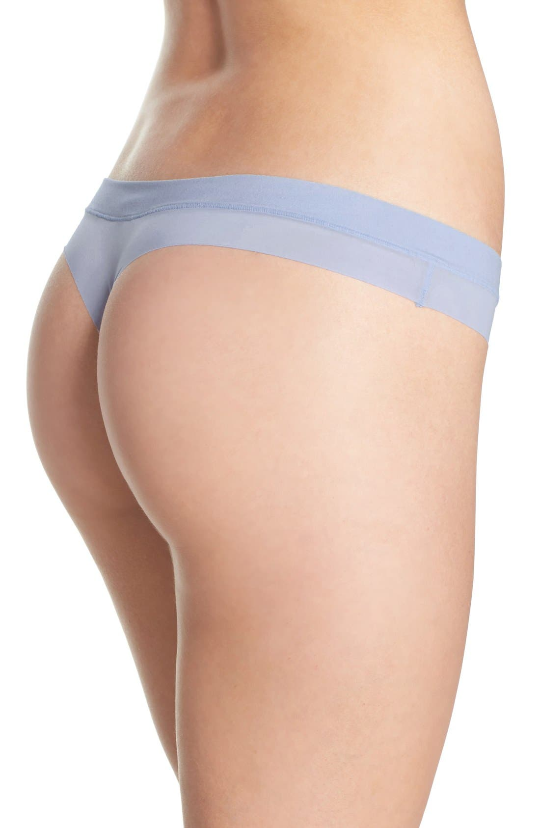 Alternate Image 2  - DKNY 'Fusion' Thong (3 for $30)