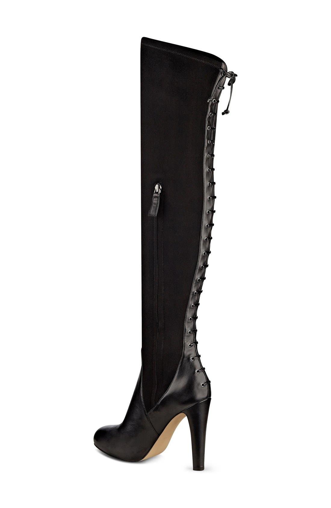 Alternate Image 2  - Nine West 'Brennan' Over the Knee Boot (Women)