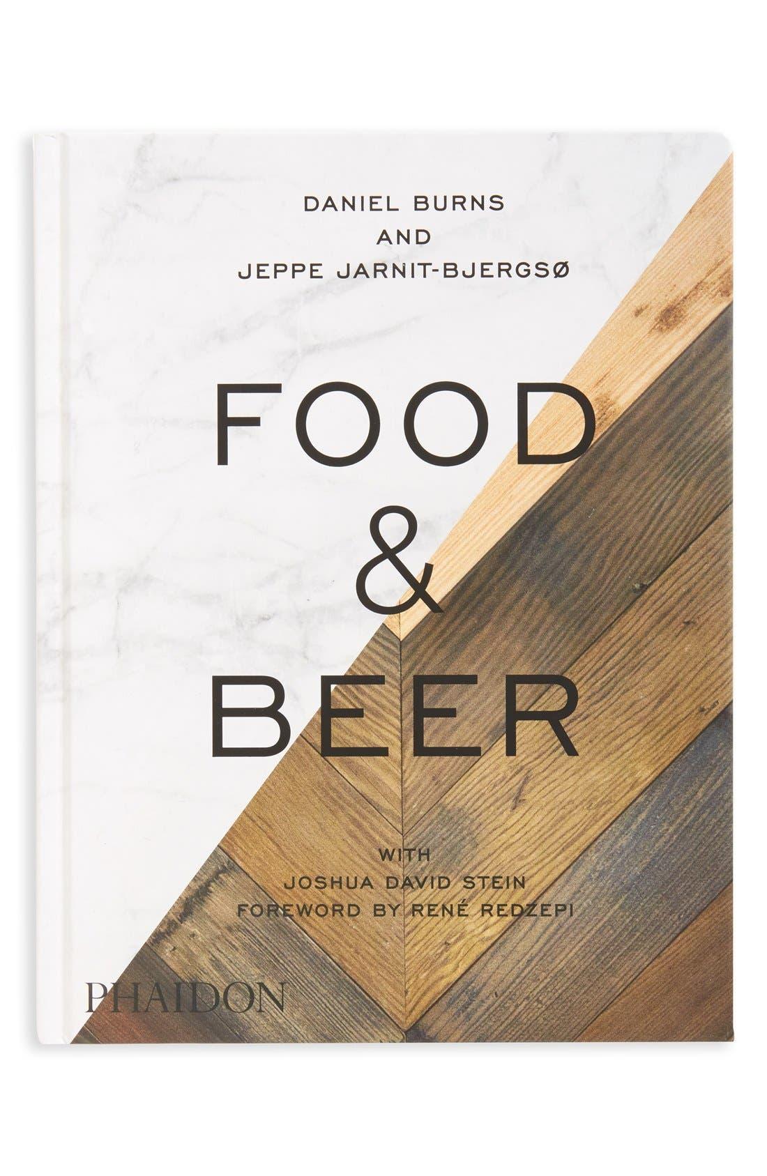 Alternate Image 1 Selected - 'Food & Beer' Book